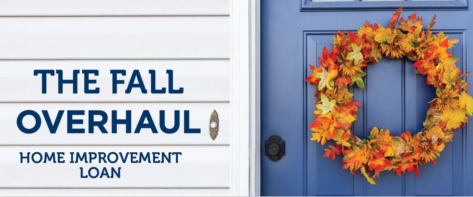 Fall Home Improvement Loans