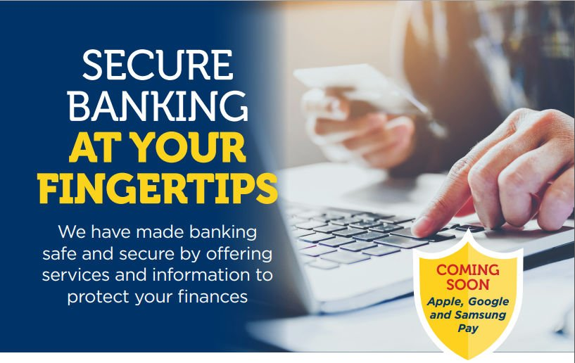 Secure banking at your fingertips