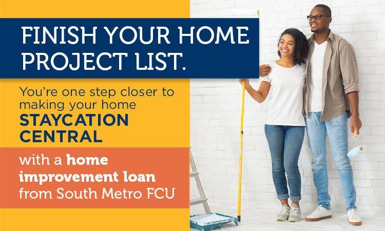 South Metro home improvement loans